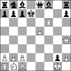 шахматная партия Ленский - Ольга